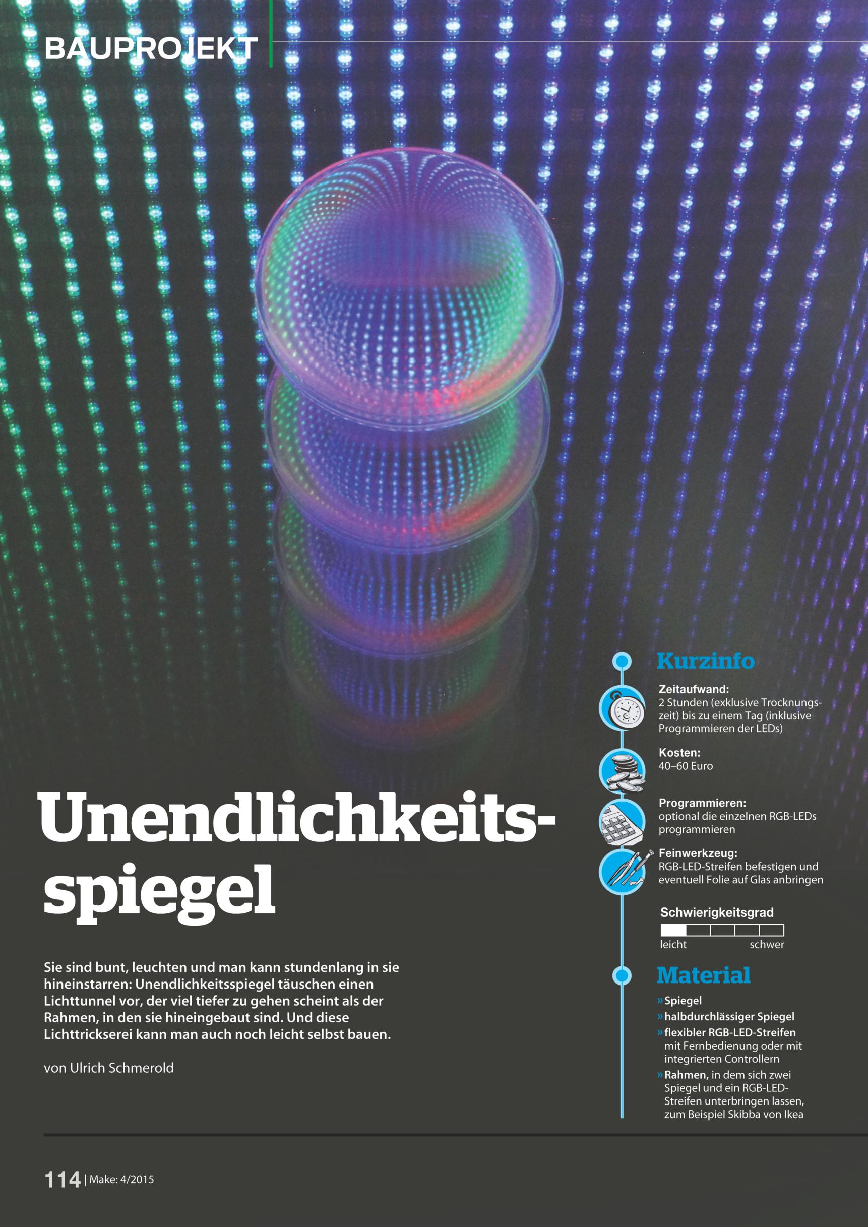 Spieglein, Spieglein an der Wand … | Make Magazin | Heise Select