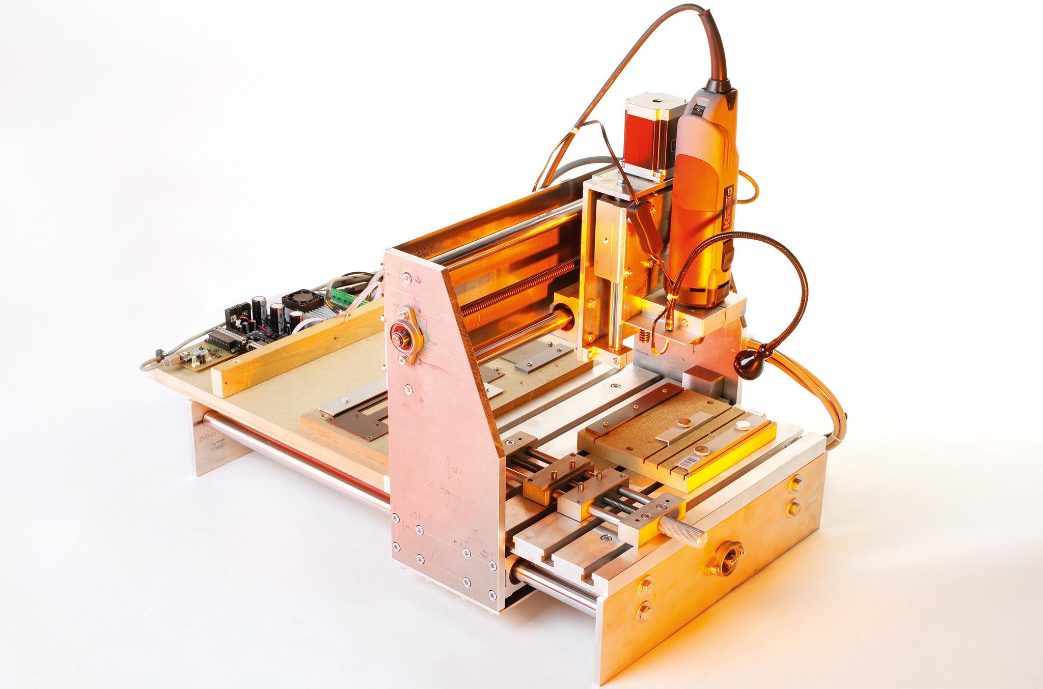 lasern, fräsen, drucken in 3d   make magazin   heise select