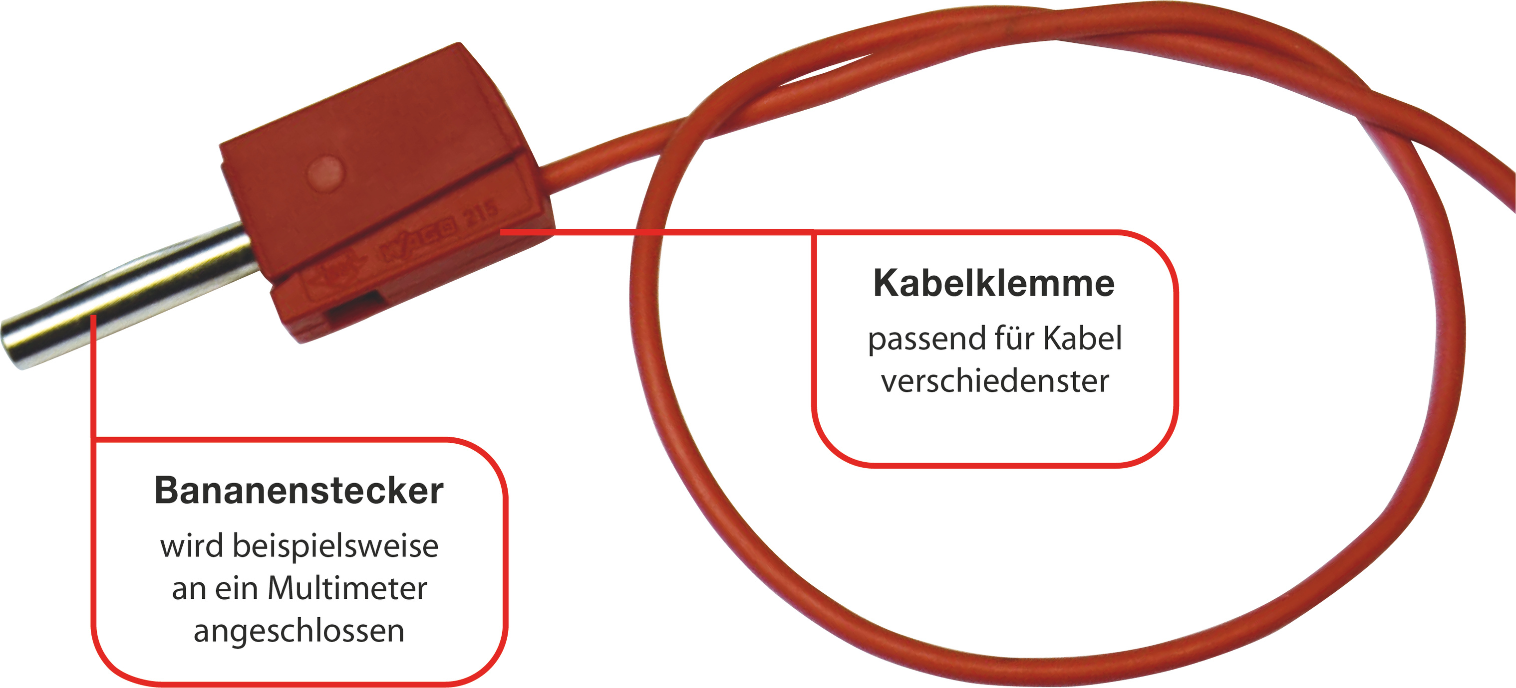 Kabelklemme mit Bananenstecker | Make Magazin | Heise Select