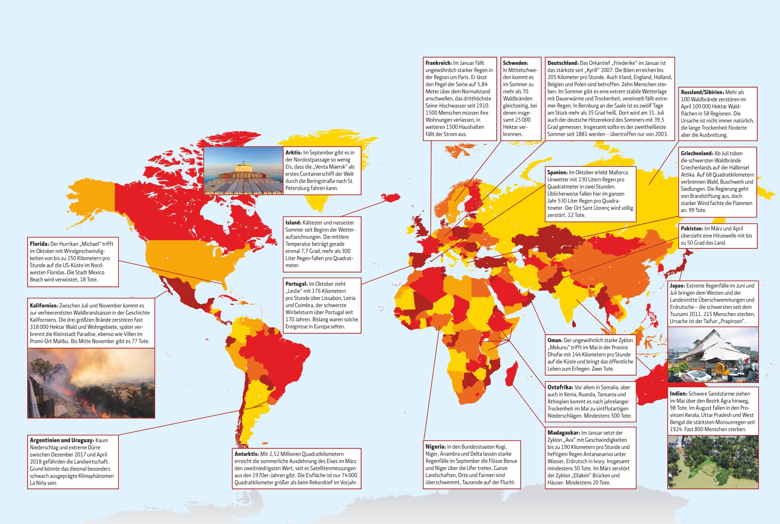Dürre, Stürme, Brände | Technology Review | Heise Magazine